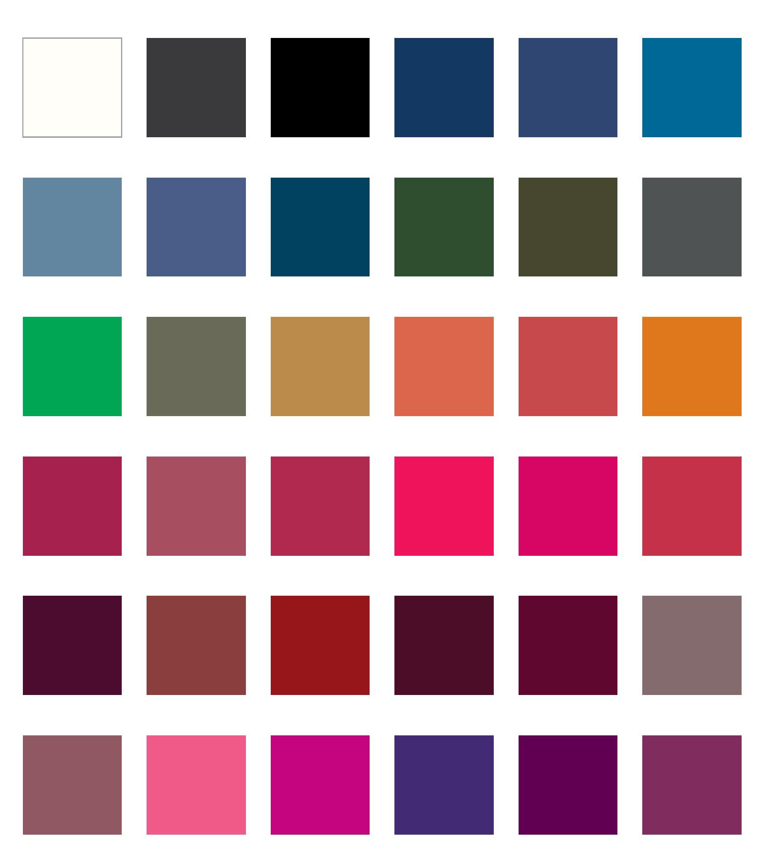 paleta dla ciemnej jesieni