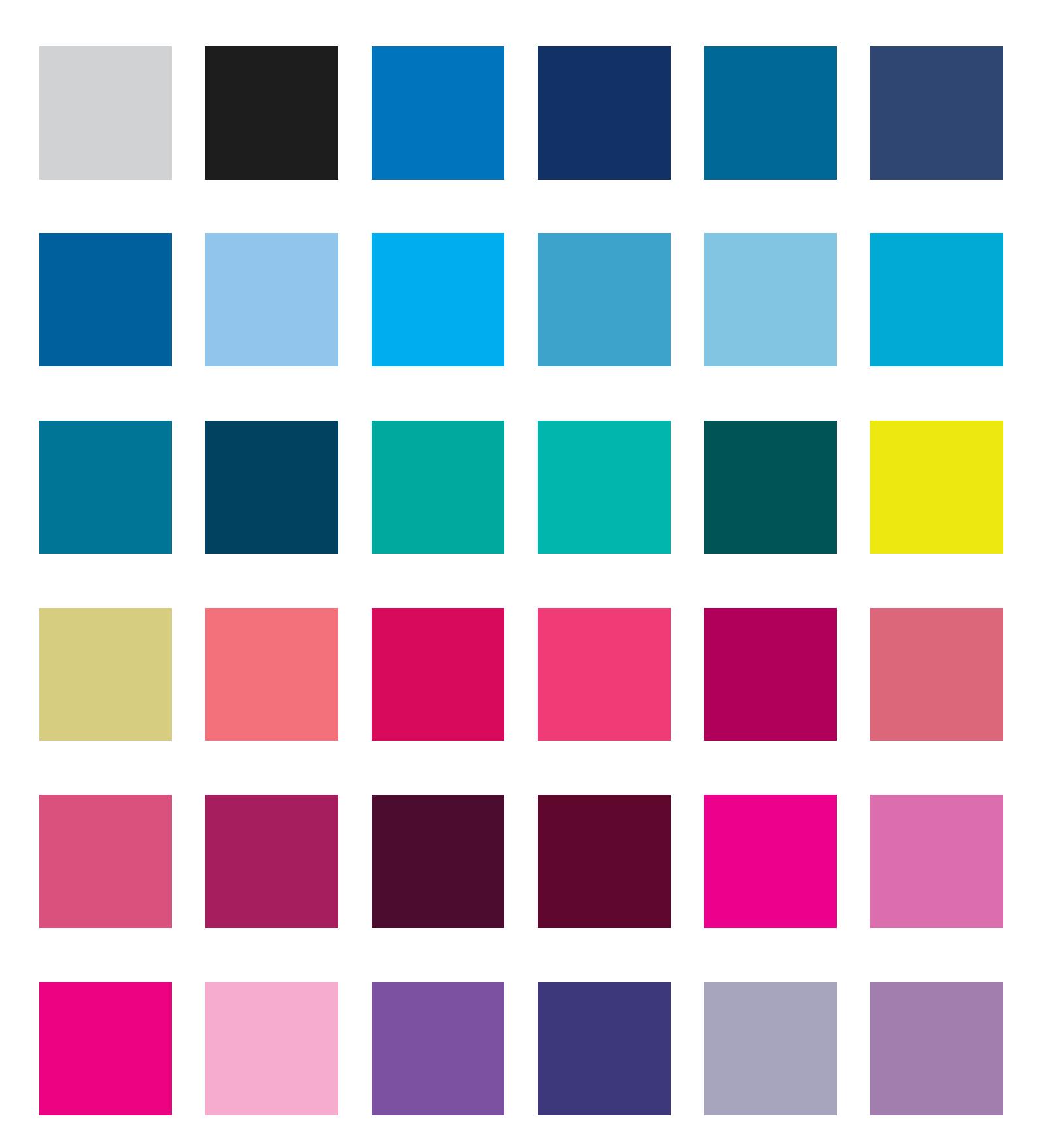 paleta kolorystyczna dla Chłodnej zimy