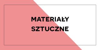 Materiały syntetyczne