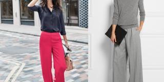 Trend alert #2 Szerokie spodnie