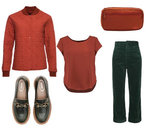 rudy plus zielony