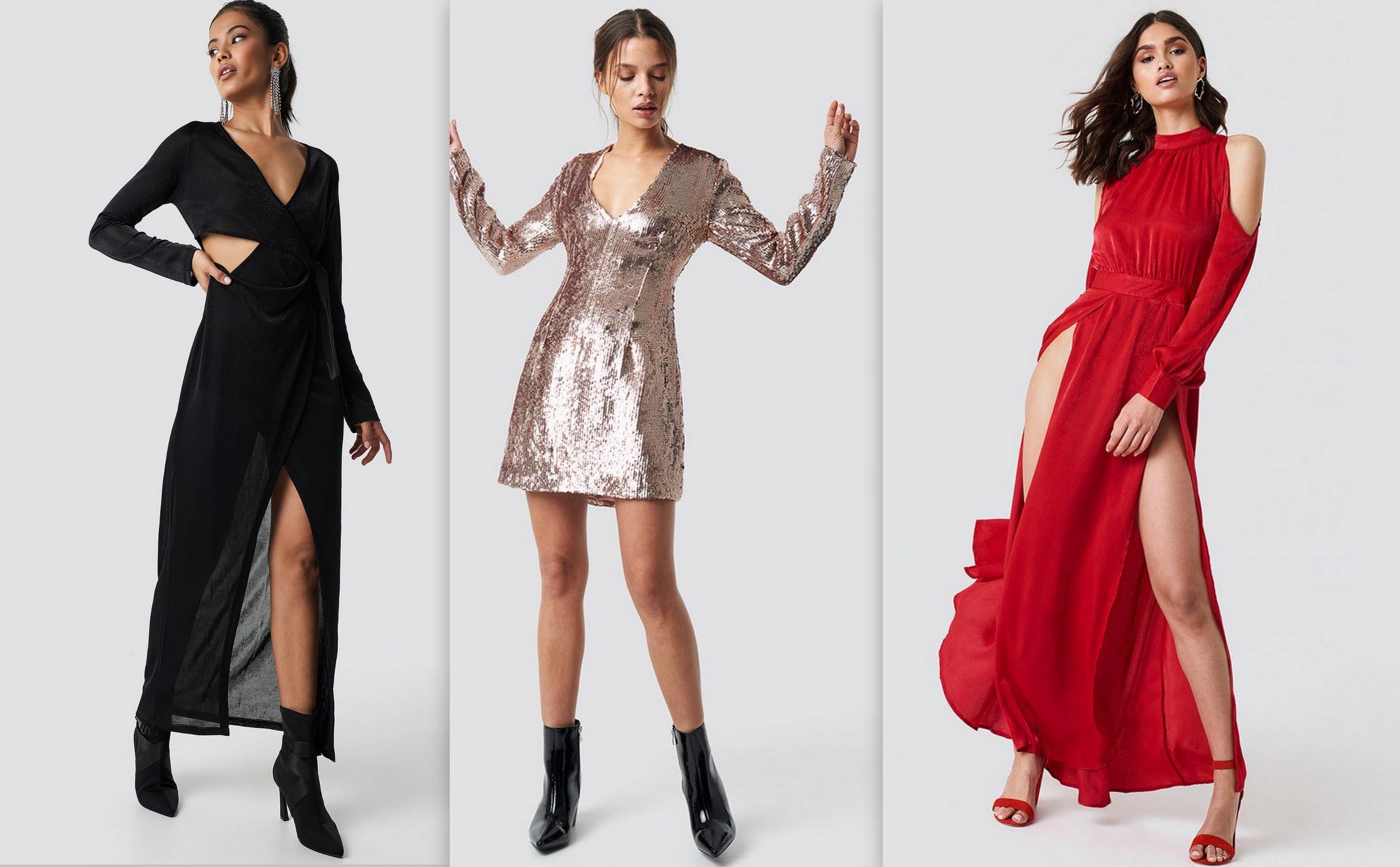 sukienki świąteczne, sylwestrowe